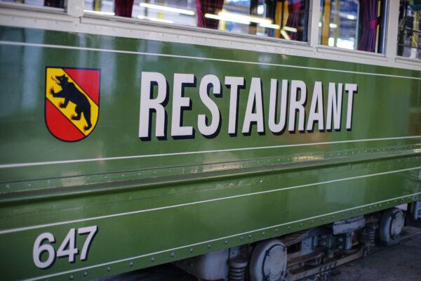 Das Berner Oldtimer Tram Restaurant, Bern