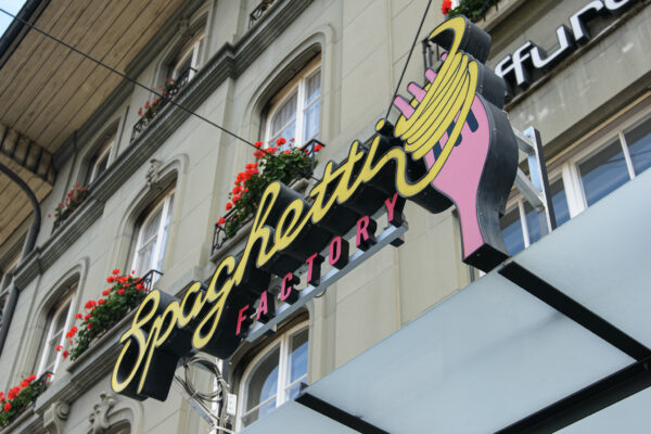 Restaurant Spaghetti Factory, Bern