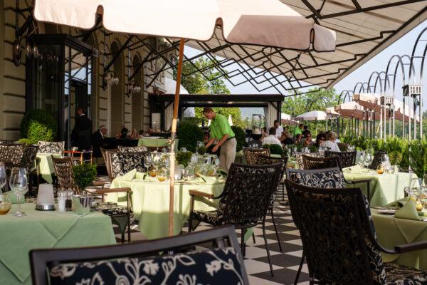 Restaurant Vu Brasserie & Terrasse – Bellevue Palace