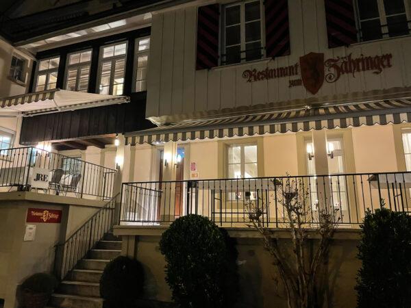 Restaurant Zähringer, Bern