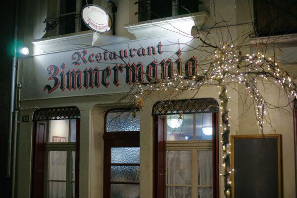 Restaurant Zimmermania, Bern