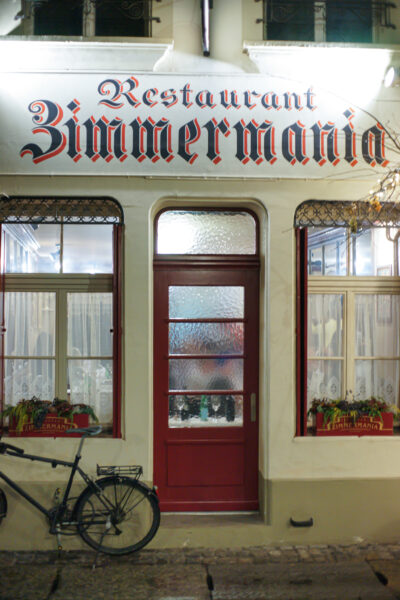 Read more about the article Restaurant Zimmermania